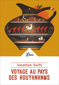 Livre numérique Voyage au pays des Houyhnhnms