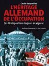 Livre numérique L'Héritage allemand de l'Occupation