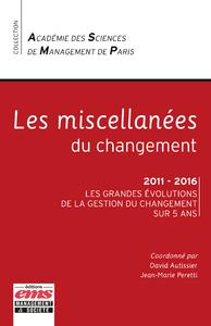Livre numérique Les miscellanées du changement