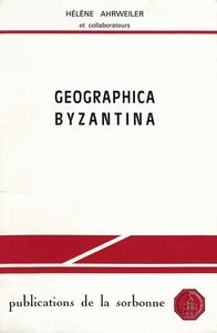 Livre numérique Geographica Byzantina