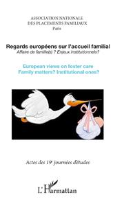Livre numérique Regards européens sur l'accueil familial