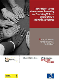 Electronic book The Council of Europe Convention on Preventing and Combating Violence against Women and Domestic Violence - A tool to end female genital mutilation