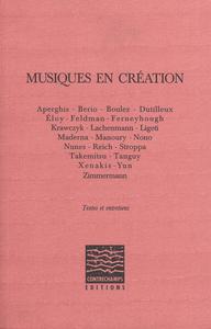 Livre numérique Musiques en création