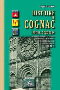 Livre numérique Histoire de Cognac, Jarnac, Segonzac (Tome II)