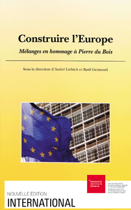 Electronic book Construire l'Europe