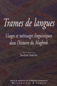 Livre numérique Trames de langues