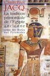 Electronic book La tradition primordiale de l'Egypte ancienne
