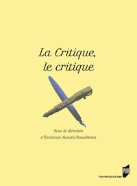 Livre numérique La critique, le critique