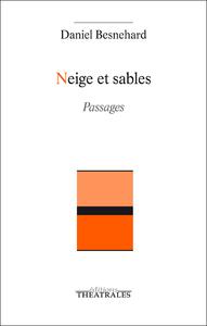 Livre numérique Neige et Sables