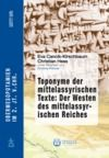 E-Book Toponyme der mittelassyrischen Texte: Der Westen des mittelassyrischen Reiches