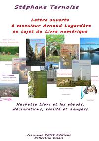 Livre numérique Lettre ouverte à monsieur Arnaud Lagardère au sujet du Livre numérique