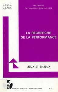 Livre numérique La recherche de performance