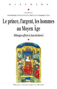 Livre numérique Le prince, l'argent, les hommes au Moyen Âge
