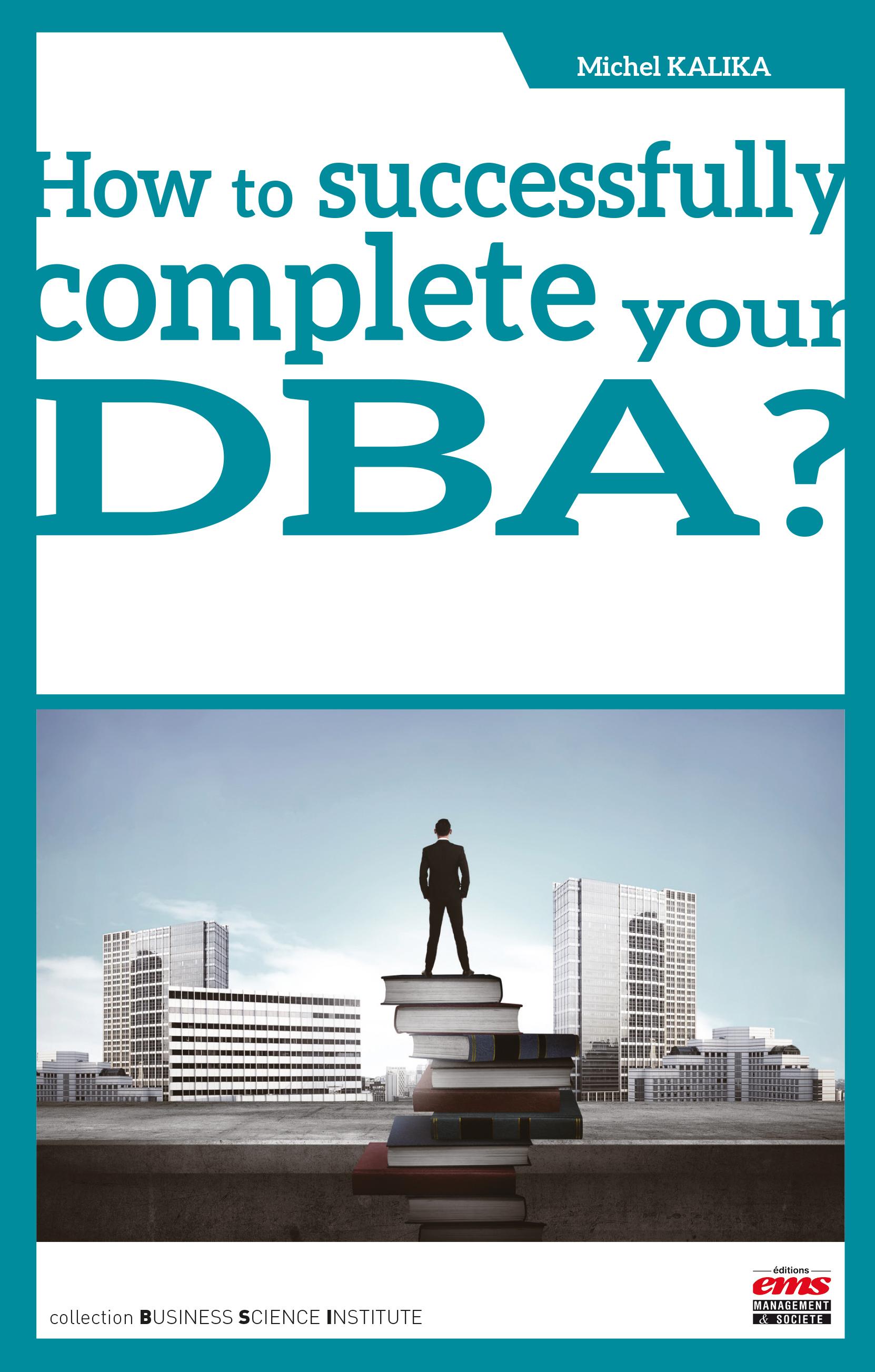 DBA Dissertation Subject areas