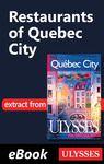 Electronic book Restaurants of Quebec City -Anglais-
