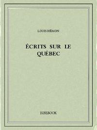 Libro electrónico Écrits sur le Québec