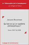 Livre numérique Qu'est-ce qu'un système philosophique?