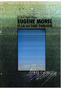 Electronic book Eugène Morel et la lecture publique
