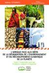 E-Book L'Afrique face aux défis de la dégradation de l'environnement et du réchauffement climatique de la planète