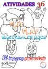 Livro digital Flip Flap conhecem os anjos - vol1, Atividades36