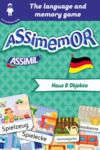 Electronic book Assimemor – My First German Words: Haus und Objekte