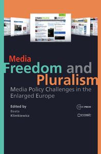 Livro digital Media Freedom and Pluralism