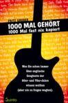Livre numérique 1000 Mal gehört - 1000 Mal fast nix kapiert