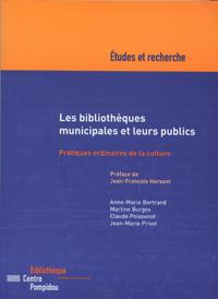 Livro digital Les bibliothèques municipales et leurs publics