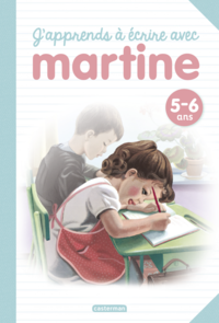 Livre numérique Livres d'activités - J'apprends à écrire avec Martine