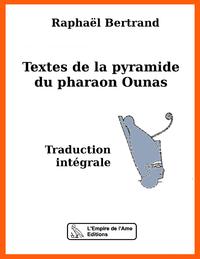 Electronic book Textes de la pyramide du pharaon Ounas