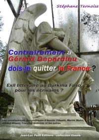 Livre numérique Contrairement à Gérard Depardieu, dois-je quitter la France?