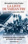 Libro electrónico La Liste de Varian Fry (Août 1940 septembre 1941)