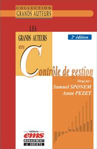 Livre numérique Les grands auteurs en contrôle de gestion - 2e édition