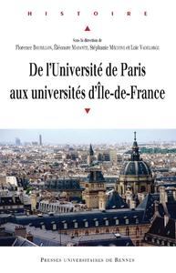 Livre numérique De l'université de Paris aux universités d'Île-de-France