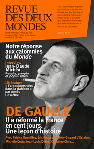 Livre numérique Revue des Deux Mondes avril 2017