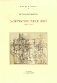 Livre numérique Onze discours sur l'Europe, 1982-1995