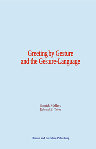 Electronic book Greeting by Gesture and the Gesture-Language