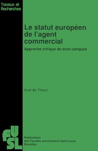 Livre numérique Le statut européen de l'agent commercial