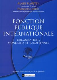 Livre numérique Fonction publique internationale