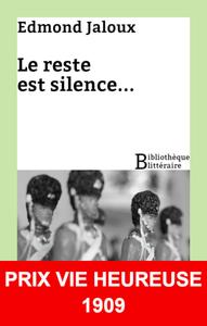 Livre numérique Le reste est silence...
