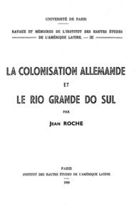 Livre numérique La colonisation allemande et le Rio grande do Sul