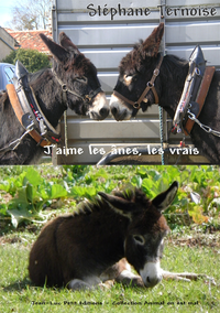 Libro electrónico J'aime les ânes, les vrais