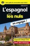 Livre numérique L'espagnol pour les Nuls en voyage ! NE