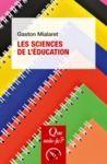 Livre numérique Les sciences de l'éducation