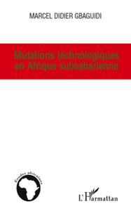Livre numérique Mutations technologiques en Afrique subsaharienne