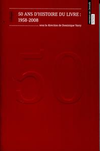 Livre numérique 50 ans d'histoire du livre