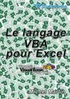 Livre numérique Le langage VBA pour Excel