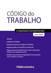 Livre numérique Código do Trabalho e Legislação Complementar