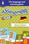 Electronic book Assimemor – My First German Words: Speisen und Zahlen