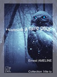 Livre numérique Histoire à faire peur